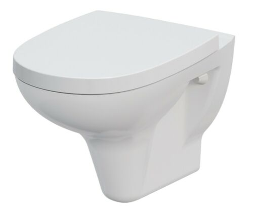 WC Sitz mit Softclose Spülrandloses Wand WC Teco inkl