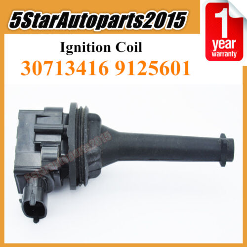 New 30713416 9125601 Ignition Coil for Volvo S60 S80 V70 XC90 2.3L 2.4L 2.5L 2.9