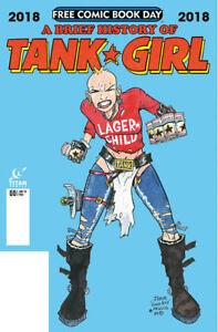 FCBD-Brief-History-of-Tank-Girl-Titan-comics-2018-no-stamp-NM