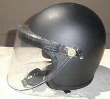 Super Seer Riot Control Tactical Helmet S1611 S1611-600 Police Issue Authentic