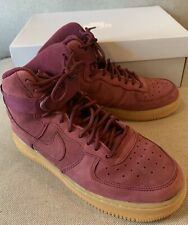 Details about Nike Air Force 1 High Wb Big Kids Style : 922066 922066 600 Bordeaux SZ 5.5