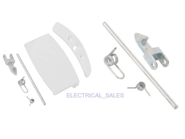 Electrolux Zanussi AEG Waschmaschine Weiß Türgriff Set 4055087003 Original