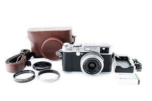 FUJIFILM-FinePix-X-Series-X100-12-3-MP-Digital-Camera-Silver-W-MHG-X100-Japan