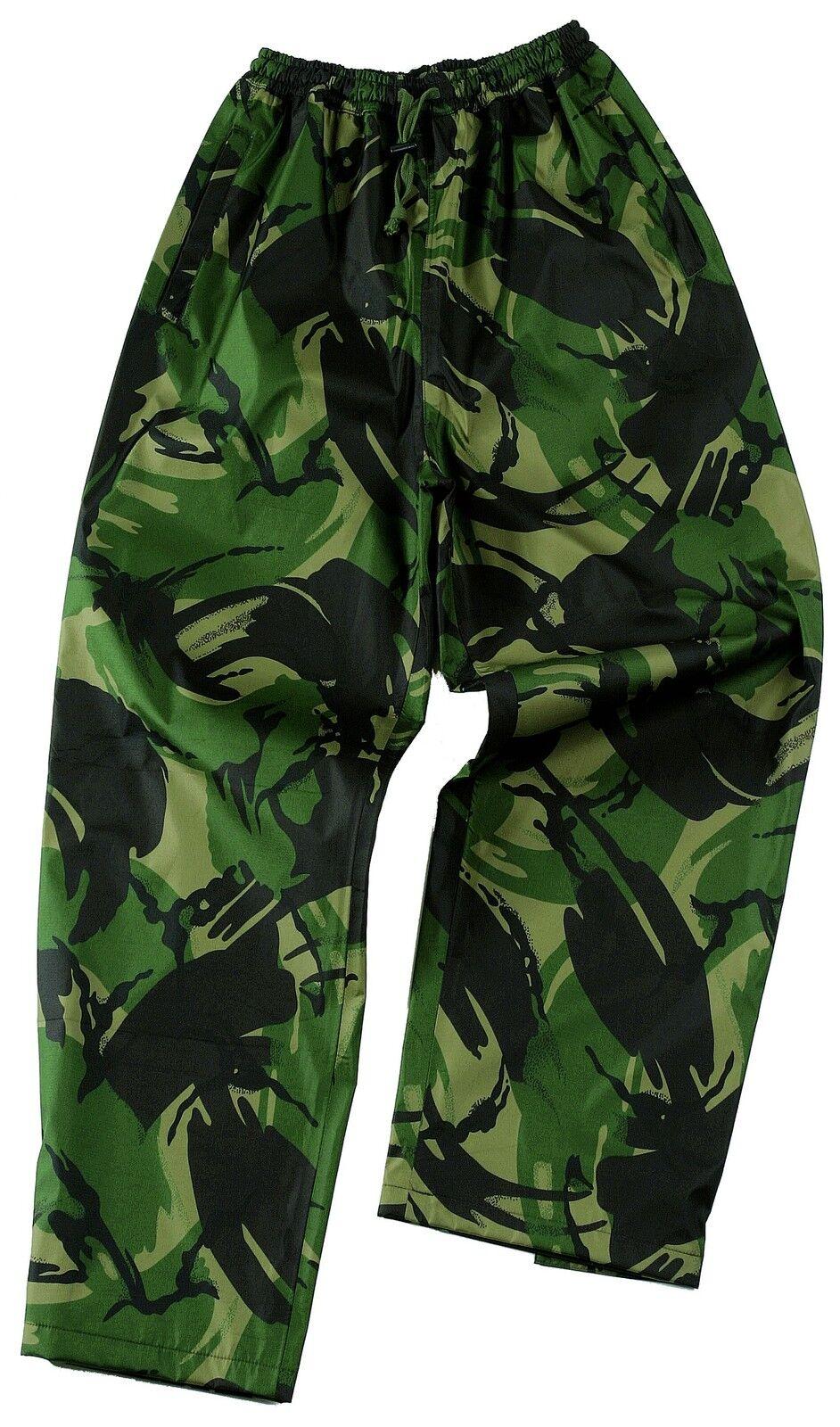 Pantalone Uomo traspirante impermeabile mimetico mimetico mimetico Inglese Zip MANO TASCHE 7b0a75