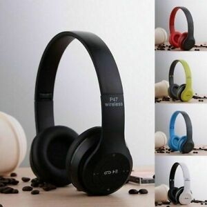 Wireless-Bluetooth-Headphones-Stereo-Headset-Noise-Cancelling-Ear-with-Mic