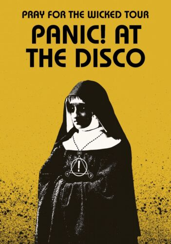 PANIC AT The DISCO Pray For The Wicked 2019 Tour PHOTO Print POSTER Brendon Urie
