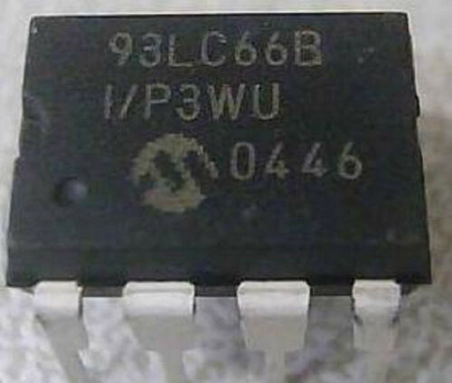 5 Piezas 93lc66b-i//p 93lc66 Dip-8 Microalambre Serial Eeprom