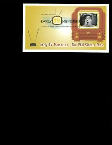 2009-FDC-Early-TV-Memories-Phil-Silvers-North-Hollywood-CA