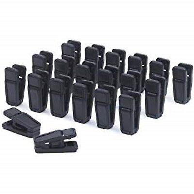 Mini Cascading Hooks Only Hangers Slim-Line Set of Black New 18