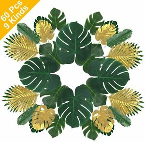 Artificial Tropical Palm Leaves Monstera Leaves Hawaiian Luau Party Decorations Ebay This large and dramatic plant, monstera deliciosa, or split leaf philodendron, is a beautiful addition to any home. ebay