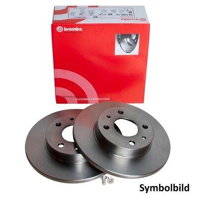Bremsbeläge Hinten u.a Brembo2 Bremsscheiben Voll 264 mm für Opel