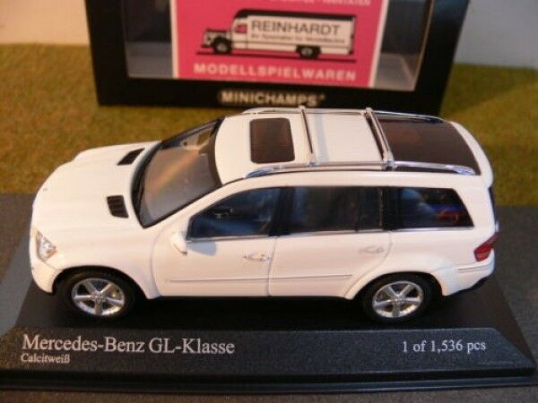 1 43 Minichamps MB Gl Classe 2006 Calcitweiss 400035000