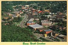 Aerial View of Boone, North Carolina, Heart of the Appalachians, NC --- Postcard