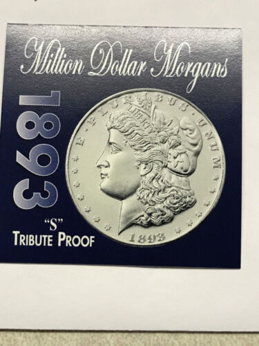Million Dollar Morgans Token Tribute Proof Coin #13471