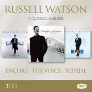 Russel-Watson-Russell-Watson-3-Classic-Albums-New-CD-UK-Import