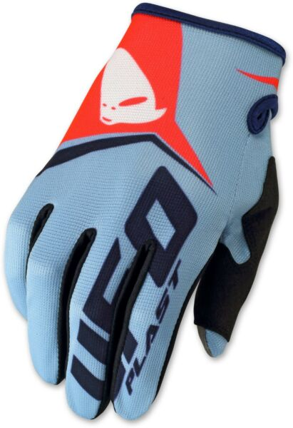 Fijn Ufo Mtb Mx Enduro Motocross Gloves Vanguard Blue Red X-large