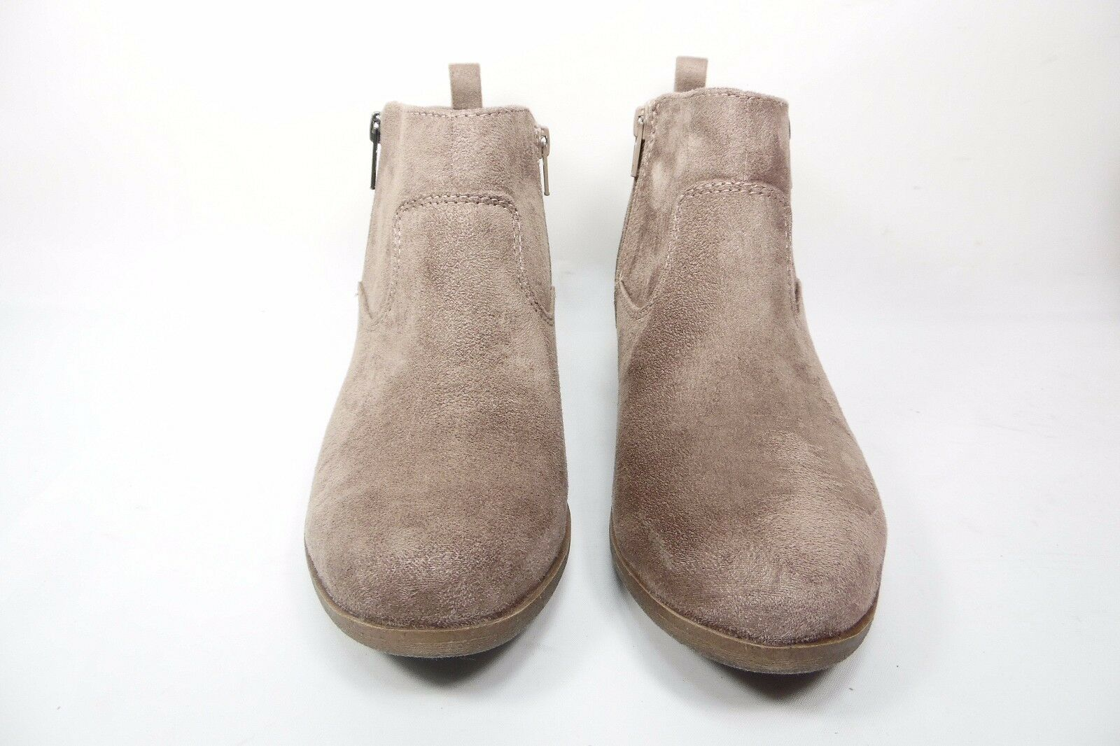 Arizona Jean Co. Galvin Womens Ankle Booties Light Taupe Size 9M