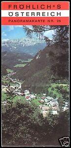 Osterreich-Panoramakarte-25-Steiermark-Bruck-a-d-Mur-Muerzzusch-Graz-1975