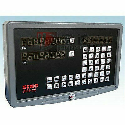 2 Axis Digital Readout DRO Sino Sds6 2v For Milling Machine
