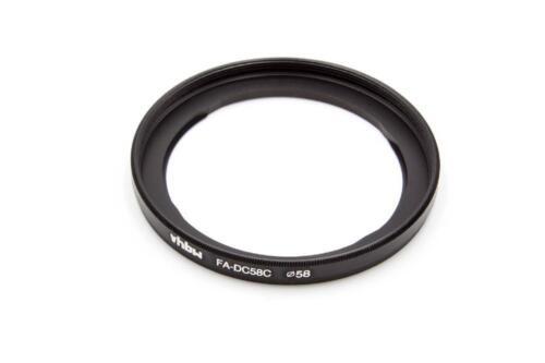 Original VHBW ® filtro-adaptador adecuado para Canon PowerShot g1x sustituye a fa-dc58c
