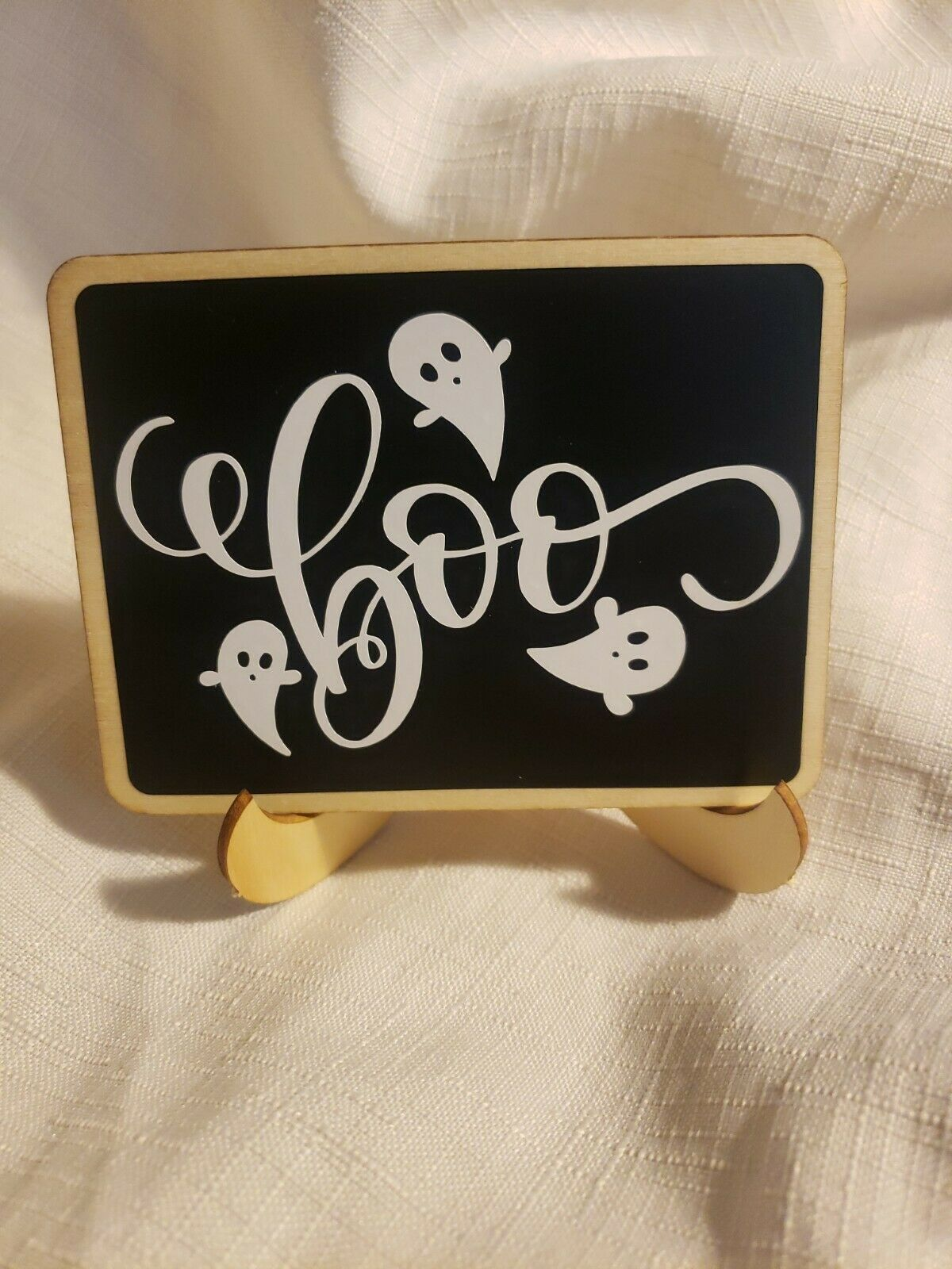 I/'m Here for the Boos Tier Tray Sign Set Wood Tier Tray Signs Halloween Tier Tray Decor Halloween Tier Tray Signs