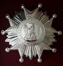 Plaque de Grand Officier de Légion d'honneur 2nd Empire Reproduction qualité