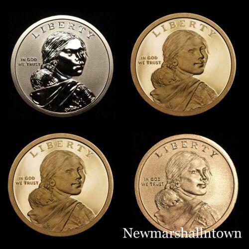2017 2018 S Native American Sacagawea Proof Reverse Enhanced BU Mint Proof Set