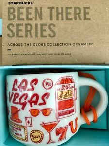 Starbucks 2oz Demi Tasse LAS VEGAS, Nevada BEEN THERE mug Ornament Cup Mini Mug