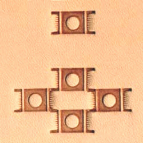 Craftool Basketweave Stamp X595 659500 New by Tandy Leather