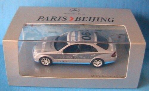Mercedes e klasse rallye paris Beijing 2007 team die welt