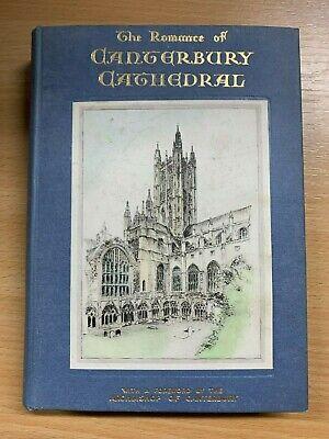 1939 The Romance Of Canterbury Cathedral Photo Illustrated Hardback Book P3 Ebay