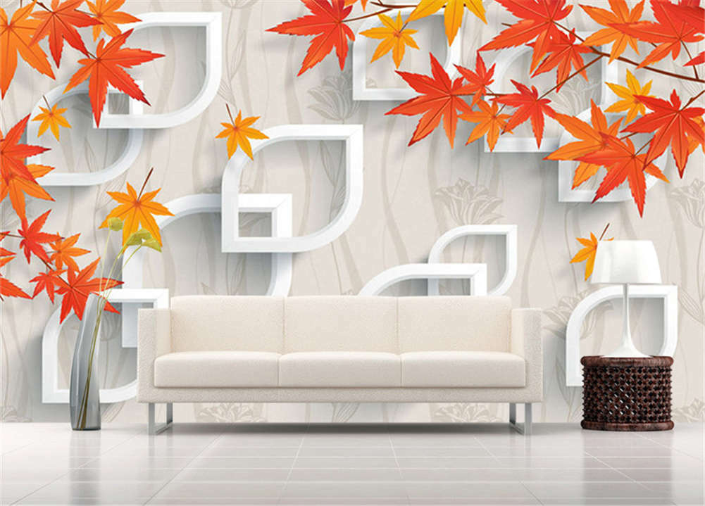 Pulpy Numerous Maple 3D Full Wall Mural Mural Mural Photo Wallpaper Printing Home Kids Decor 86a820