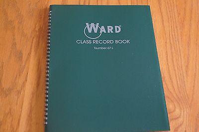 Ward Class Record Book 67 L Green Teacher Grade Book