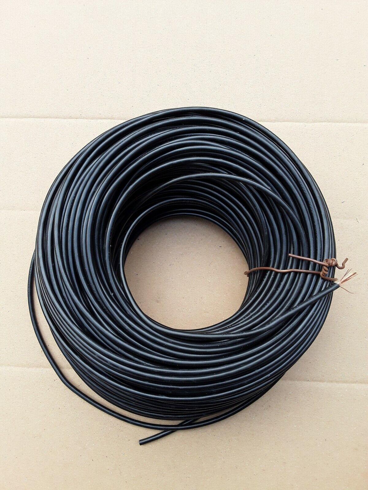 H07V-K ca.100m Litze PVC Aderleitung Flexibel Flexibel Flexibel 4,0 mm² Draht Kupfer schwarz   Lassen Sie unsere Produkte in die Welt gehen  88135b