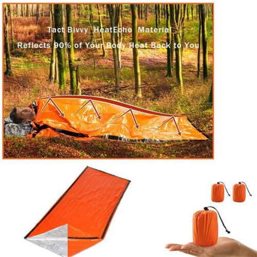 3X Emergency Sleeping Bag Thermal Waterproof For Outdoor Survival Camping Hiking
