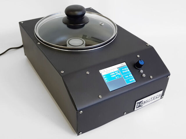 Mutech microcoater digital Spin Coater with vacuum chuck and programs