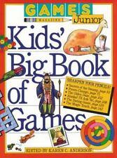 Games Magazine Junior Kids' Big Book of Games - New - Anderson, Karen C. - Paper