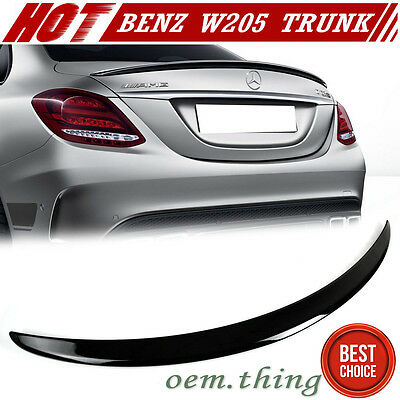 STOCK LA Painted #988 Mercedes BENZ C-Class W205 4DR Sedan A Trunk Spoiler 2018