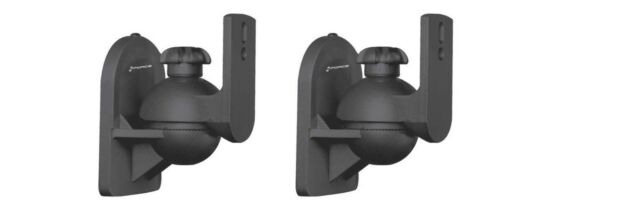 1219 2 Mounts Included!! NEW~ GForce Adjustable Speaker Wall Mount Brackets