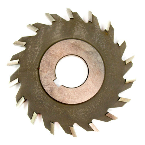"4/"" x 1//4/"" x 1/"" HSS Side Milling Cutter Straight Tooth 18T"