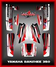YAMAHA BANSHEE 350 YFM350 SEMI CUSTOM GRAPHICS KIT NEWJACK3