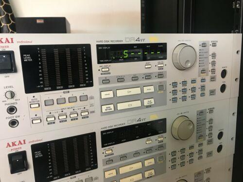 Akai DR4VR HDD Recorder 4 250 Virtual Tracks DR4 Digital+Analog