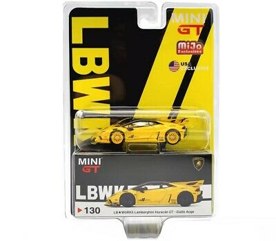Tarmac x MINIGT 1:64 LB Works Lamborghini Huracan GT Magic Green Chase wrong box