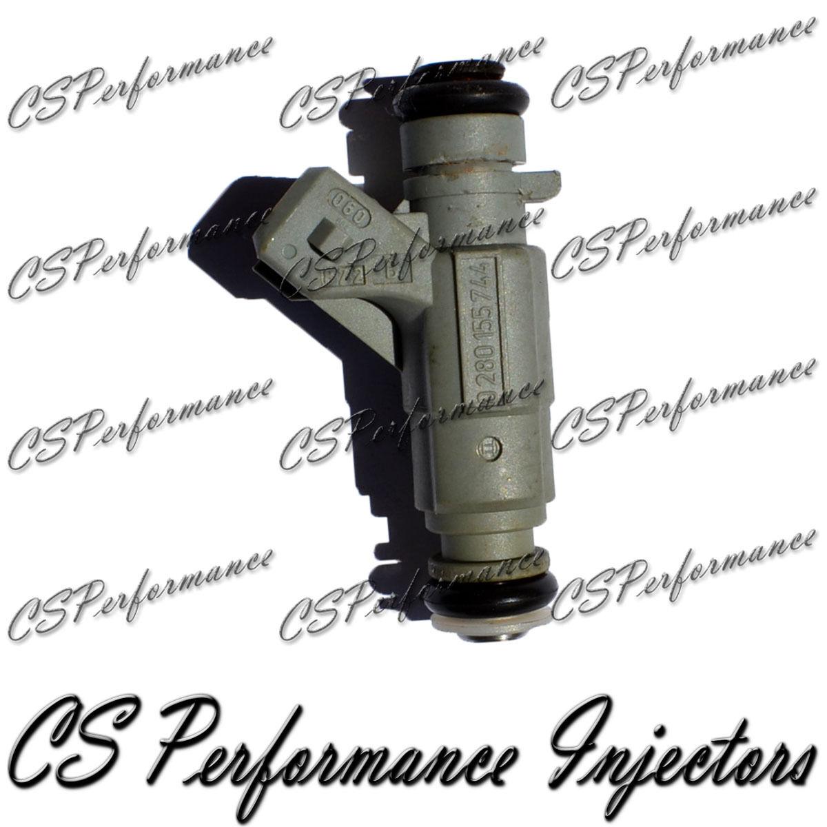 6 OEM Bosch Fuel Injectors Set 0280155744 Rebuilt by Master ASE Mechanic USA