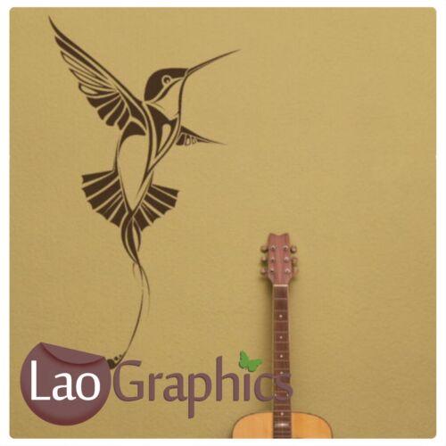 Humming Bird Wall Art Sticker Large Vinyl Transfer Graphic Decal Decor UK bn20