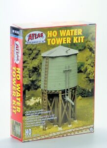 Atlas-HO-Scale-Structure-Kit-Water-Tower
