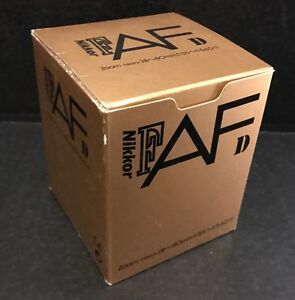 Nikon AF Zoom-Nikkor 28-80mm f/3.5-5.6D N Camera Lens - EMPTY BOX ONLY (NO LENS)