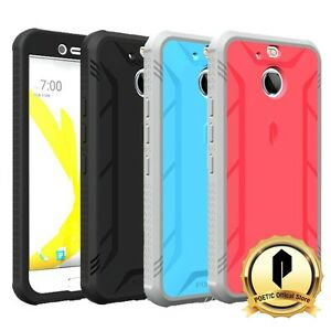 Poetic-Revolution-Shockproof-Case-w-Built-In-Screen-Protector-for-HTC-Bolt