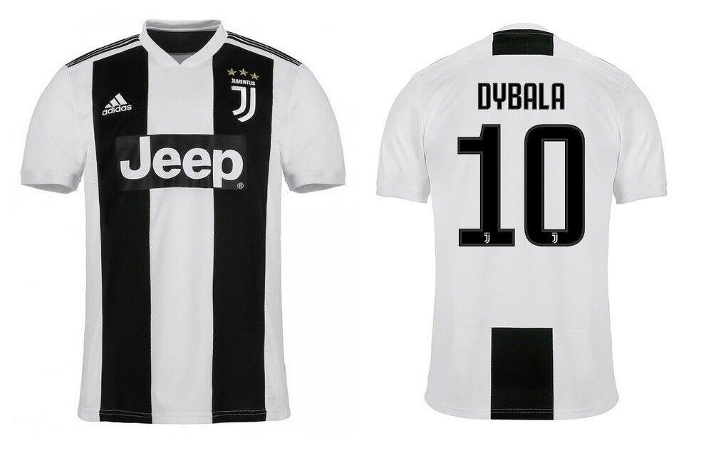 Trikot Adidas Juventus Turin 2018-2019 Home - Dybala 10  | Trendy
