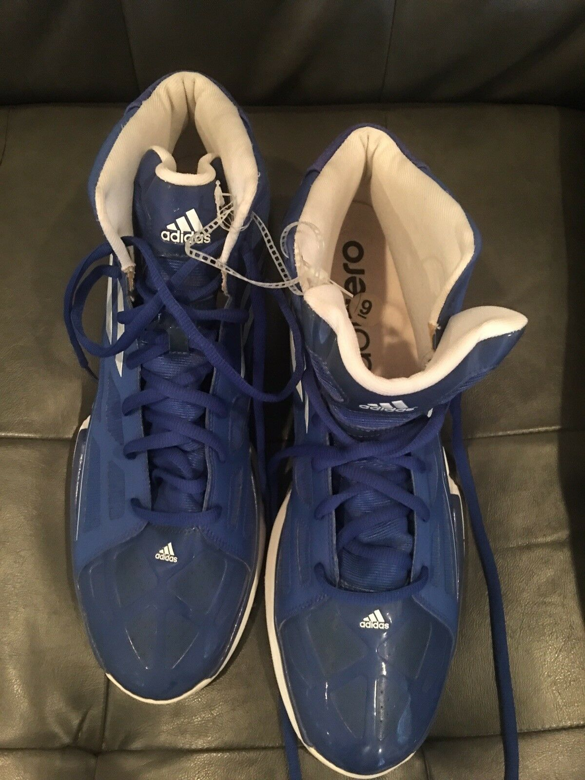 Adidas basketball shoes Size 19 Great